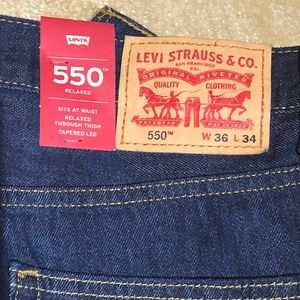 Levi's 550 Relaxed Fit 36x34